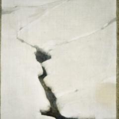 Brzegi – Grudzień 3 / Brzegi – December 3, 1981, olej na płycie pilśniowej / oil on fibreboard, 17 × 21 cm