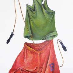 Grzegorz Kozera, Bez tytulu, 2010, akryl na płótnie, 200 x 160 cm